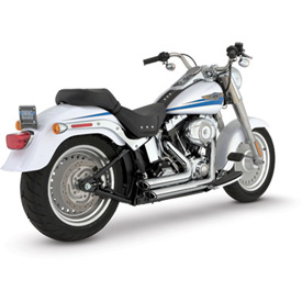 Vance & Hines Shortshots Staggered Motorcycle Exhaust