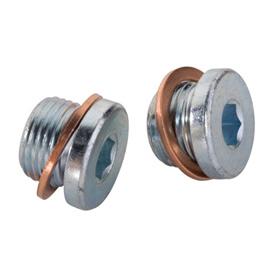 O2 Sensor Port Plug Kit 18mm x 1.5 Vance /& Hines 16925