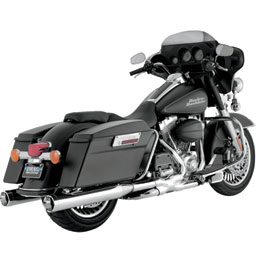 Vance & Hines Monster Round Slip-On Motorcycle Exhaust