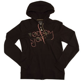 Volcom Who Bad Ladies Zip-Up Hooded Sweatshirt