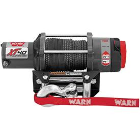 WARN® XT40 Winch with Synthetic Rope