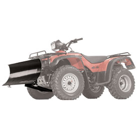 "WARN® Standard Straight Blade Plow Kit, Winch Equipped ATV, 48"" Blade"