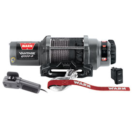 WARN® V4000-S Vantage Winch with Synthetic Rope