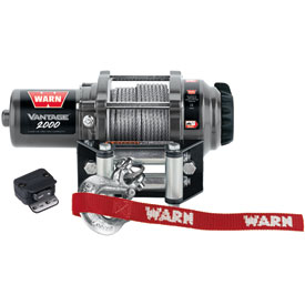 WARN® V2000 Vantage Winch with Wire Rope