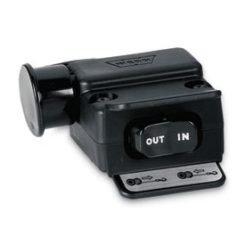 WARN® Mini Rocker Control Switch with Integrated Socket