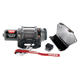 WARN® Vantage Winch with Synthetic Rope and Mount Plate
