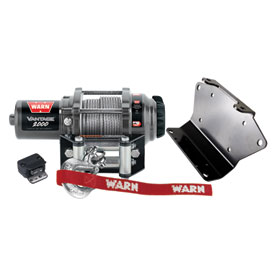 WARN® Vantage Winch with Wire Rope and Mount Plate