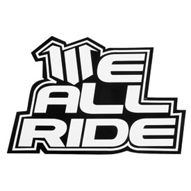 We All Ride Pioneer Sticker