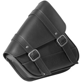 Willie & Max Revolution Universal Swingarm Saddlebag - For models with a dual shock