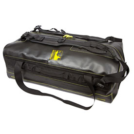 Wolfman Waterproof Zippered Expedition Dry Duffel Bag  Black