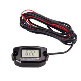 Works Connection Tach/Hour Meter with Resettable Maintenance Timer