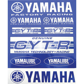 Yamaha GYT-R/ Factory Racing Sticker Sheet