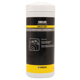 Yamalube Yamaclean Shine Wipes