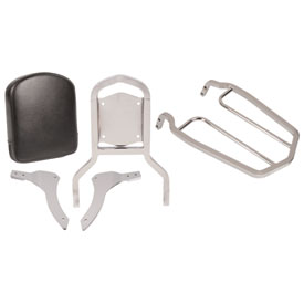 Yamaha Passenger Backrest Kit with Rear Luggage Rack
