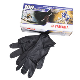 Yamaha Disposable Nitrile Mechanic Gloves