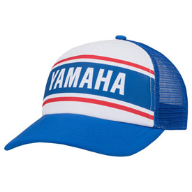 Yamaha Striped Trucker Snapback Hat  d561167e158