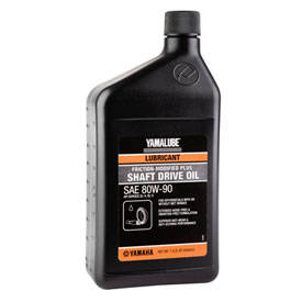 Yamalube Friction-Modified Shaft Drive Gear Oil 80W-90 32 oz.