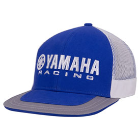 Yamaha Racing Electric Mesh Snapback Hat  Blue