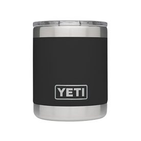 Yeti Rambler Lowball Black 10 oz.