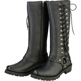 Z1R Women's Savage Leather Boots