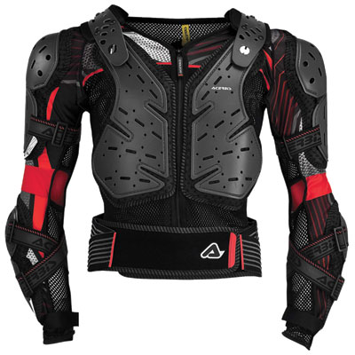 Acerbis Koerta 2.0 Body Armor Large/X-Large Black/Red