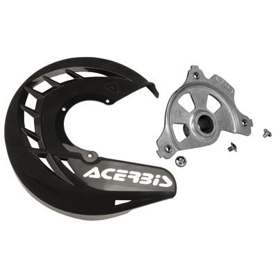 Acerbis X-Brake Vented Front Disc Cover with Mounting Kit Blue//White for KTM 250 EXC-F 2017-2018