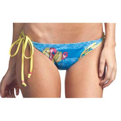 Affliction Brooklyn Ladies String Bikini Bottom Ladies Small Hawaiian Ocean
