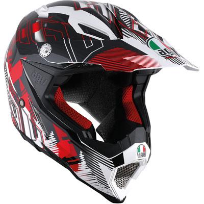 AGV AX-8 EVO Helmet X-Large White/Red
