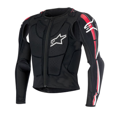 Alpinestars Bionic Pro Protection Jacket Small Black/Red/White