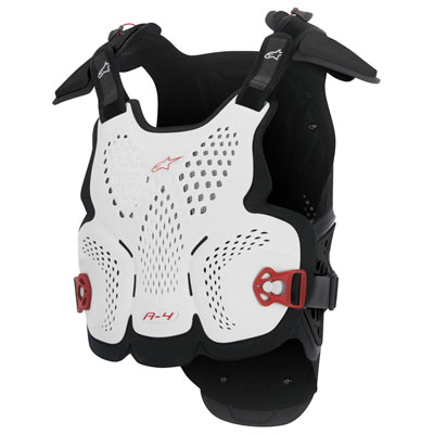Alpinestars A-4 Roost Deflector Medium/Large White/Black/Red