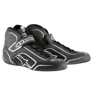 Alpinestars Tech 1-T Racing Shoes Size 7 Black/Anthracite