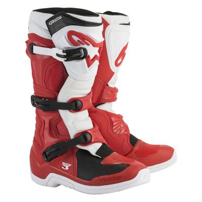 Alpinestars Tech 3 Boots Size 9 Red/White
