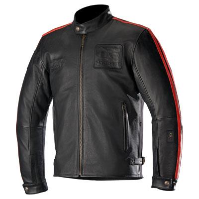 Alpinestars Charlie Tech-Air Leather Jacket XX-Large Black/Red