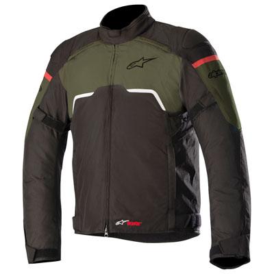 Alpinestars Hyper Drystar Jacket X-Large Black/Military Green