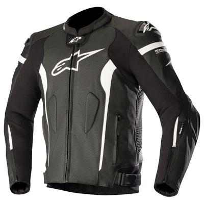 Alpinestars Missile Tech-Air Leather Jacket Euro 60 Black/White