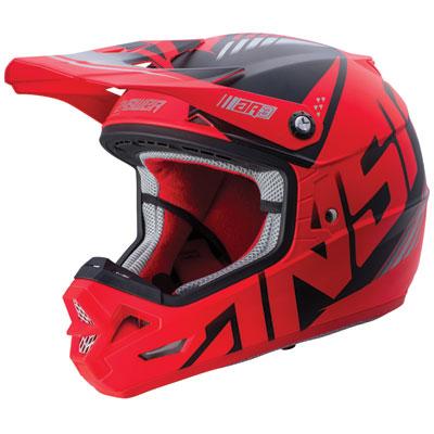 Answer Racing AR3 Align Helmet XX-Large Red/Black