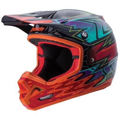 Answer Racing AR3 Haze Helmet X-Large Orange/Red
