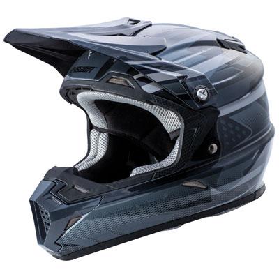 Answer Racing AR5 MIPS Helmet X-Large Black/Grey/White