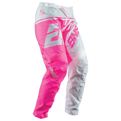 Answer Racing Girl's Youth Syncron WMX Pant 16  Grey/Pink