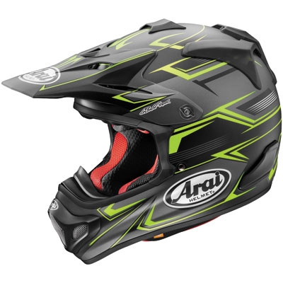 Arai VX-Pro4 Helmet X-Small Sly Black/Yellow