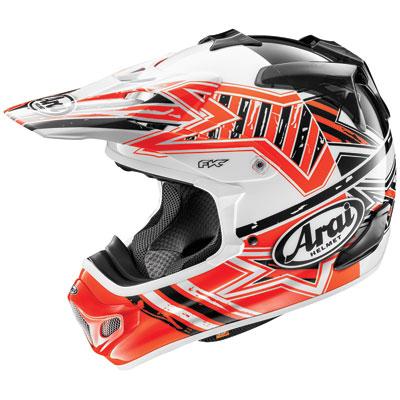 Arai VX-Pro4 Helmet Large Shooting Star Red