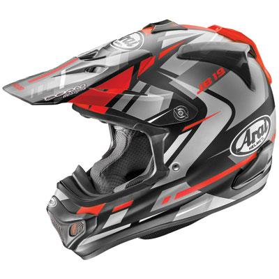 Arai VX-Pro4 Helmet Large Bogle Red