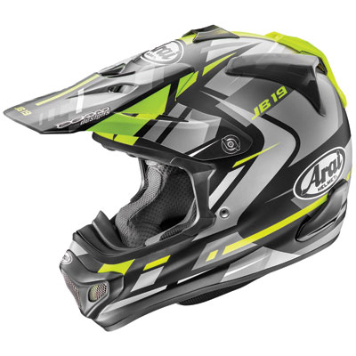Arai VX-Pro4 Helmet Large Bogle Yellow