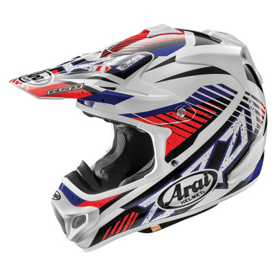 Arai VX-Pro4 Helmet Large Slash Red