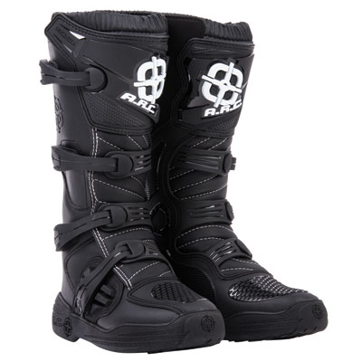 A.R.C. Corona Boots Size 12 Black