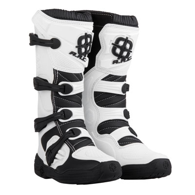 A.R.C. Corona Boots Size 9 White