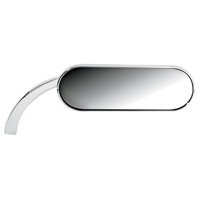 Arlen Ness Oval Micro Mirror Right Side Chrome