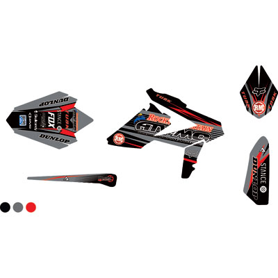 Attack Graphics Custom Blitz Full Trim Kit  Black/Dark Grey