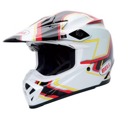 Bell Moto-9 Helmet 2016 Small Pace Black/White