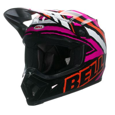 Bell MX-9 Helmet 2016 X-Large Tagger Scrub Pink